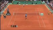 Roland Garros 2009 : Федерер - Хаас