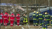 Germany: Bad Aibling train crash search and rescue op. continues