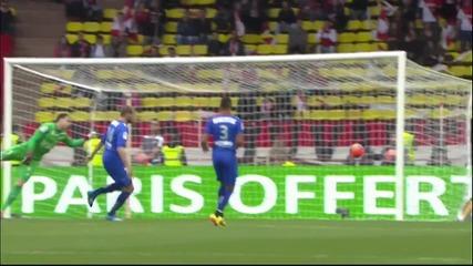 Бербатов фантастично прехвърляне гол - Monaco 1-0 Nice