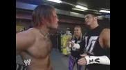 Jeff Hardy Бие Шамар На Matt Hardy