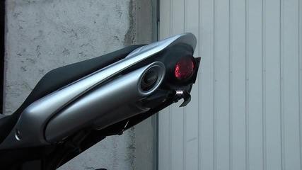 Suzuki Gsr 600 silencieux exhaust origine et Gpr Ghost Aluminium