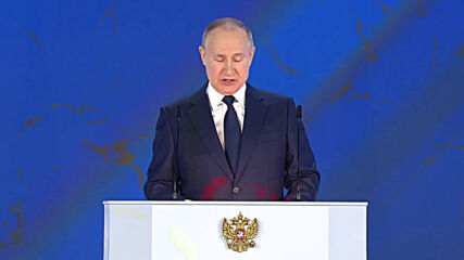 Russia: Putin thanks doctors fighting COVID-19 at annual address to Federal Assembly