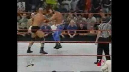 Raw 2001 - Ледения Стив Остин срещу Крис Беноа - Wwe Championship