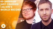 Calvin Harris to Ed Sheeran: 'F*** you'