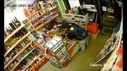 Въоръжен грабеж на магазин в България