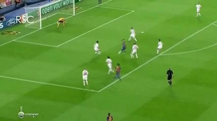 Lionel Messi - Голове и трикове