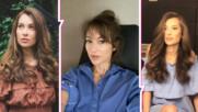 Рошава коса? Никол Станкулова доказва, че това е новата тенденция