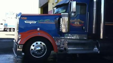 В Американски Стил - Kenworth W900l !