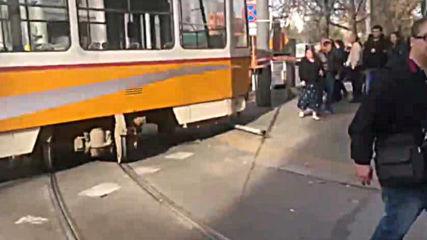 Зрелищен инцидент в София