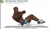 Double twist - Oblique abs