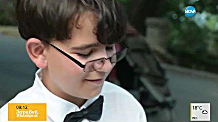 14-годишен пианист-виртуоз свири на улицата, събира пари за конкурс