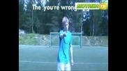 Как симулират футболистите (смях)