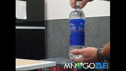 Как лесно може да се пренася дрога чрез минерална вода