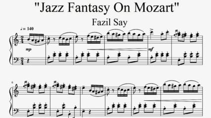 """Jazz Fantasy On Mozart"" - Fazil Say (Turkish March Improvisation)"