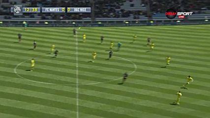 Нант - Ница 1:0, 36 кръг, Лига 1