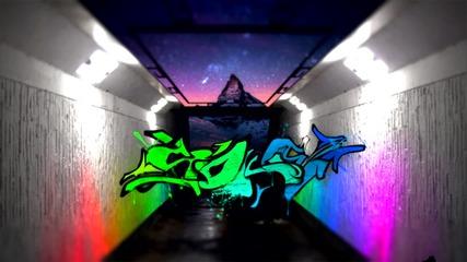 Бързо рисуване на graffiti в photoshop | By Soke