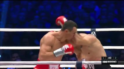 Най - добрите моменти от двубоя между Кубрат Пулев и Кличко - Klitschko vs Pulev 2014