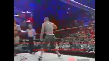 Batista Shawn Michaels Undertaker John Cena vs Randy Orton Edge Mr Kennedy Mvp Part 3_3