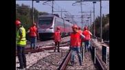 Влакова катастрофа в Италия, има жертви