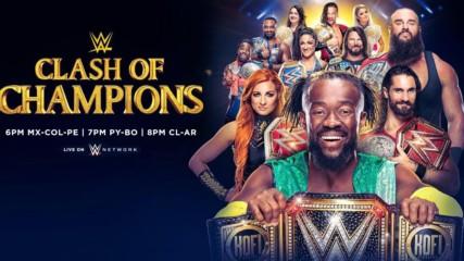 Todo lo que necesitas saber antes de Clash of Champions: WWE Ahora, Septiembre 14, 2019