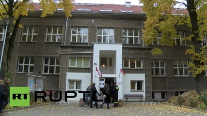 Poland: Law and Justice party's Kaczynski casts general election vote