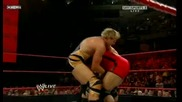 Wwe 12/10/09 Jack Swagger vs Mvp [ Qualifing Brigging Rights Match ]