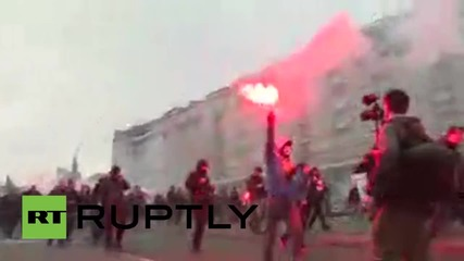 Poland: Nationalists march through Warsaw on Polish Independence Day