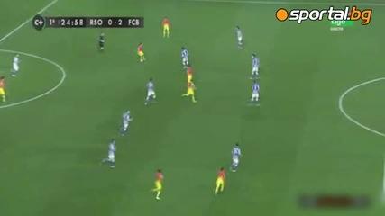 Реал Сосиедад - Барселона 3-2