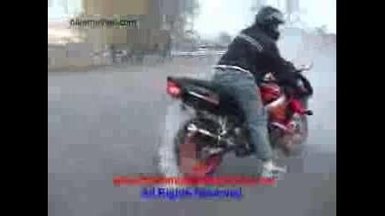 Honda Cbr 900 Си Пали Гумите