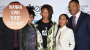 Will Smith's family is selling tons of their clothes