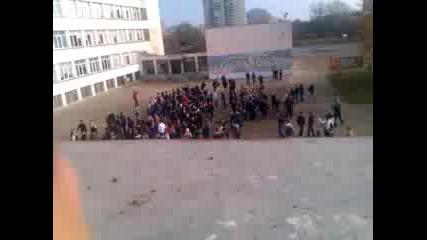 Протест на ученици от Пловдив.