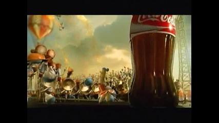 Реклама На Кока - Кола{extra Кечество}