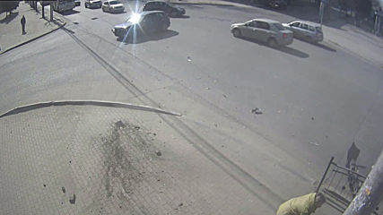 See Russian woman miraculously dodge out-of-control car