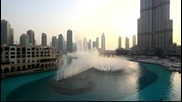 Спектакъл от фонтани - Дубай