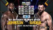 Anthony Johnson vs Ryan Bader (ufc on Fx 18, 30.01.2016)