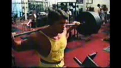 Arnold Schwarzenegger (the measure of a man)