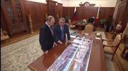 Russia: Putin talks nuclear technology with NRC KI director Kovalchuk