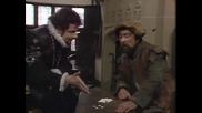 Baldrick counting beans