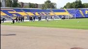 Левски тренира в пълен състав преди мача с Ботев Враца