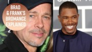 Frank Ocean serenades Brad Pitt on stage