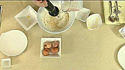 Кухнята на Звездев - Пържени кюфтета и мраморен кекс