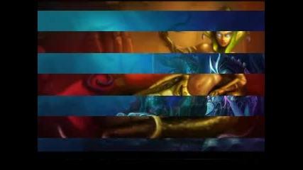 най-секси герои и скинове в League Of Legends