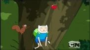 Време за приключения - Бг аудио С05 Е04 & Up a Tree / adventure time /