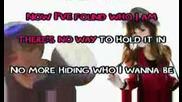 Demi Lovato - This is me karaoke/instrumental