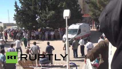 Turkey: At least 12 killed as IS re-enters Kurdish-held Kobane