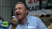 Greece: All-Workers Militant Front march against Greek bailout