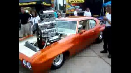 Muscle Car Si Supercharged