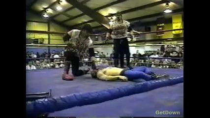 The Bad Crew (dog & Rose) vs. Joel Hartgood & Jt Smith - Ecw Just Another Night 1996