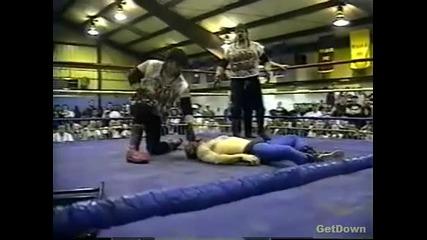 The Bad Crew (dog & Rose) vs. Joel Hartgood & Jt Smith - Ecw Just Another Night 1996