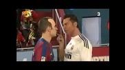Смях! Пародия на спречкването между Роналдо и Иниеста